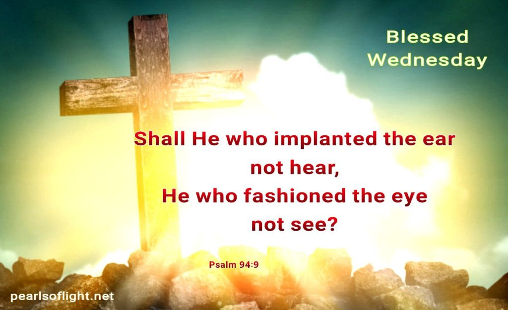 Shall He who implanted the ear not hear…
