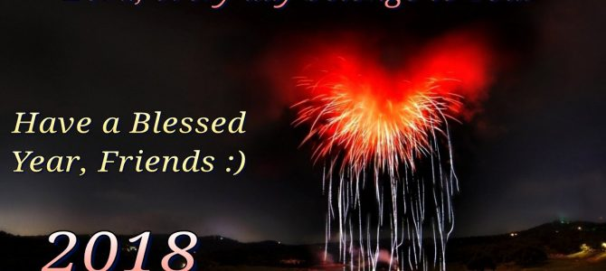 Have a Blessed Year, Friends :)
