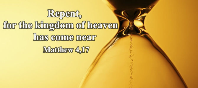 Repent…