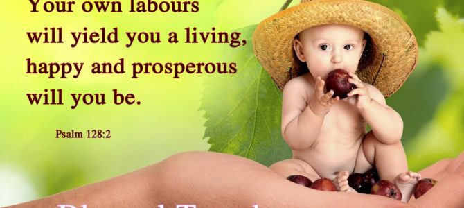 Happy and prosperous will you be (BL)