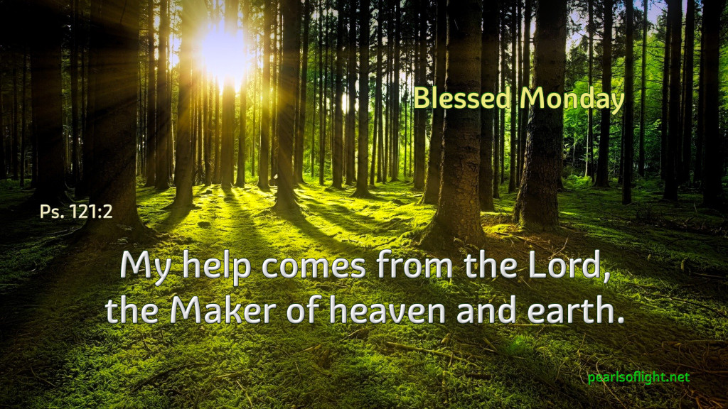 My help comes from the Lord, the Maker of heaven and earth