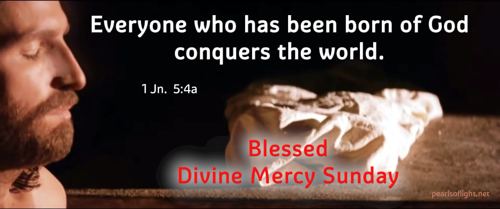 Everyone who has been born of God conquers the world.